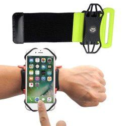 """Univerzális Futó alkar karszalag 6"""" okostelefonok zöld telefontok"""
