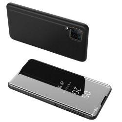 Clear View tok Huawei P40 Lite / Nova 7i / Nova 6 SE fekete
