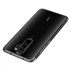 Clear Color Gel tok TPU galvanizált keret telefontok Xiaomi redmi Note 8 Pro fekete telefontok
