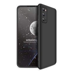 GKK 360 Protection tok Első és hátsó tok az egész testet fedő Samsung Galaxy S20 fekete