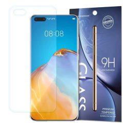 Edzett üveg 9H Képernyővédő fólia Huawei P40 Pro (csomagolás - boríték)