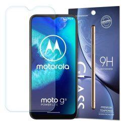 Edzett üveg 9H képernyővédő fólia Motorola Moto G8 Teljesítmény Lite (csomagolás - boríték)
