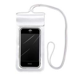 """Vízálló telefon tok 6,6 """""""" ezüst"""