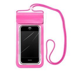 """Vízálló telefon tok 6,6 """""""" pink"""