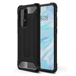 hybrid Armor tok Kemény tok Huawei P40 Pro fekete telefontok