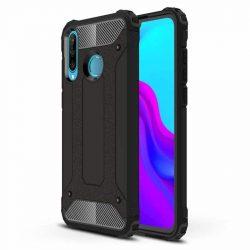 hybrid Armor tok Kemény tok Huawei P40 Lite E fekete telefontok