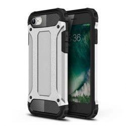 hybrid Armor tok Kemény tok iPhone SE 2020 / iPhone 8 / iPhone 7 ezüst telefontok