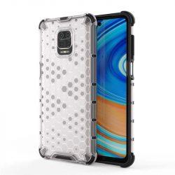 Honeycomb tok páncél telefontok TPU Bumper Xiaomi redmi Note 9 Pro / redmi Note 9s átlátszó telefontok