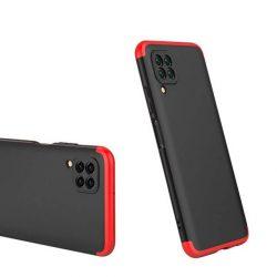 GKK 360 Protection tok Első és hátsó tok az egész testet fedő Huawei P40 Lite / Nova 7i / Nova 6 SE fekete-piros telefontok
