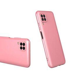 GKK 360 Protection tok Első és hátsó tok az egész testet fedő Huawei P40 Lite / Nova 7i / Nova 6 SE rózsaszín telefontok