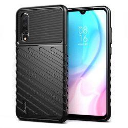 Thunder tok Rugalmas Kemény tok TPU tok Xiaomi Mi CC9e / Xiaomi Mi A3 fekete telefontok