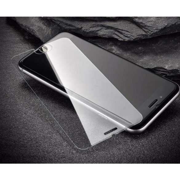 edzett üveg tempered glass 9H képernyővédő fólia LG K61 (csomagolás - boríték) üvegfólia