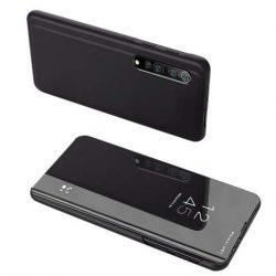 Clear View tok Xiaomi Mi Note 10 Lite fekete telefontok