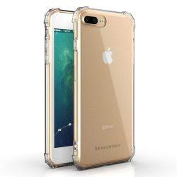 Wozinsky ütésálló tartós tok katonai fokozatú védelem iPhone 8 Plus / iPhone 7 Plus átlátszó telefontok