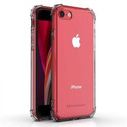 Wozinsky ütésálló tartós tok katonai fokozatú védelem iPhone SE 2020 / iPhone 8 / iPhone 7 átlátszó telefontok