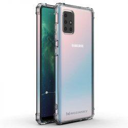 Wozinsky ütésálló tartós tok katonai fokozatú védelem Samsung Galaxy A71 átlátszó telefontok
