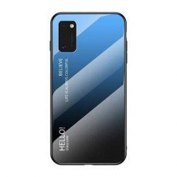 Gradiens Glass tartós edzett üveg tempered glass lap Samsung Galaxy A41 fekete-kék telefontok