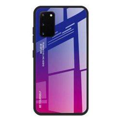 Gradiens Glass tartós edzett üveg tempered glass lap Samsung Galaxy A41 rózsaszín-lila telefontok
