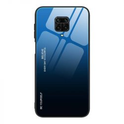 Gradiens Glass tartós edzett üveg tempered glass lap Xiaomi redmi Note 9 Pro / redmi Note 9s fekete-kék telefontok