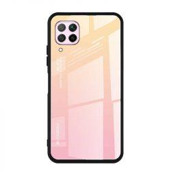 Gradiens Glass tartós edzett üveg tempered glass lap Huawei P40 Lite / Nova 7i / Nova 6 SE rózsaszín telefontok