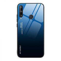 Gradiens Glass tartós edzett üveg tempered glass lap Huawei P40 Lite E fekete-kék telefontok