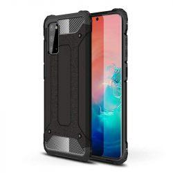 hybrid Armor tok Kemény tok Samsung Galaxy A41 fekete telefontok