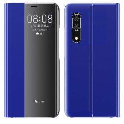 New Sleep Case típusú telefontok kitámasztó funkcióval Huawei P30 kék telefontok