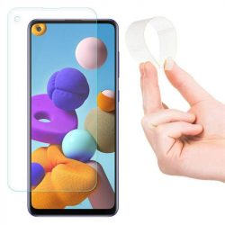 Wozinsky Nano Flexi Glass hybrid képernyővédő fólia edzett üveg tempered glass Samsung Galaxy A21S üvegfólia