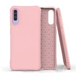 Puha színes tok rugalmas gél tok Samsung Galaxy A50s / Galaxy A50 / Galaxy A30s rózsaszín telefontok