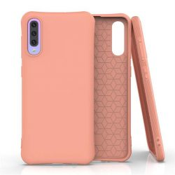 Puha színes tok rugalmas gél tok Samsung Galaxy A50s / Galaxy A50 / Galaxy A30s narancssárga telefontok