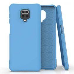 Puha színes tok rugalmas gél tok Xiaomi redmi Note 9 Pro / redmi Note 9s kék telefontok