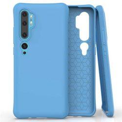 Puha színes tok rugalmas gél tok Xiaomi Mi Note 10 / Mi Note 10 Pro / Mi CC9 Pro kék telefontok