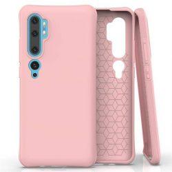 Puha színes tok rugalmas gél tok Xiaomi Mi Note 10 / Mi Note 10 Pro / Mi CC9 Pro rózsaszín telefontok