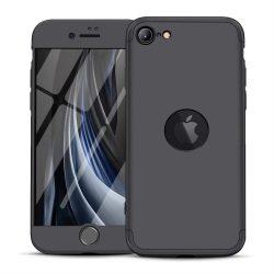 GKK 360 Protection tok Első és hátsó tok az egész testet fedő iPhone SE 2020 fekete telefontok