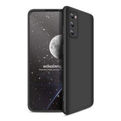 GKK 360 Protection tok Első és hátsó tok az egész testet fedő Samsung Galaxy A41 fekete telefontok