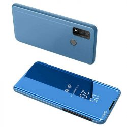 Clear View tok Huawei P smart 2020 kék telefontok