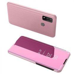Clear View tok Huawei P smart 2020 rózsaszín telefontok