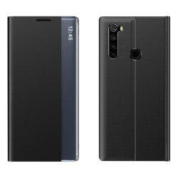 New Sleep Case típusú telefontok kitámasztó funkcióval Xiaomi redmi Note 8T fekete telefontok