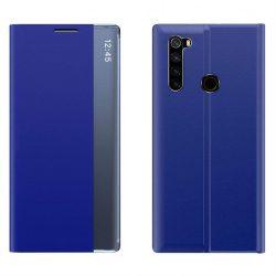 New Sleep Case típusú telefontok kitámasztó funkcióval Xiaomi redmi Note 8T kék telefontok