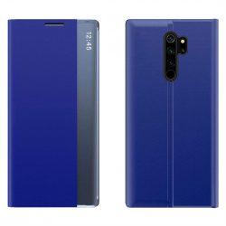 New Sleep Case típusú telefontok kitámasztó funkcióval Xiaomi redmi Note 8 Pro kék telefontok