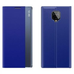 New Sleep Case típusú telefontok kitámasztó funkcióval Xiaomi redmi Note 9 Pro / redmi Note 9s kék telefontok