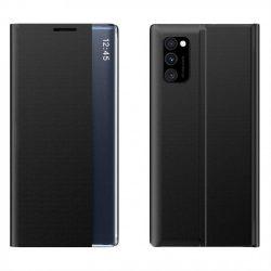 New Sleep Case típusú telefontok kitámasztó funkcióval Samsung Galaxy A51 / A31 Galaxy fekete telefontok