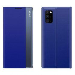 New Sleep Case típusú telefontok kitámasztó funkcióval Samsung Galaxy A71 kék telefontok