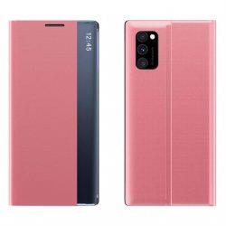 New Sleep Case típusú telefontok kitámasztó funkcióval Samsung Galaxy A71 rózsaszín telefontok