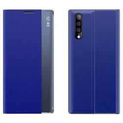New Sleep Case típusú telefontok kitámasztó funkcióval Samsung Galaxy A70 kék telefontok
