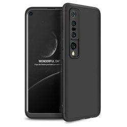 GKK 360 Protection tok Első és hátsó tok az egész testet fedő Xiaomi Mi 10 Pro / Xiaomi Mi 10 fekete telefontok
