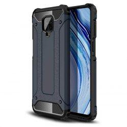 hybrid Armor tok Kemény telefontok Xiaomi redmi 10X 4G / Xiaomi redmi Note 9 kék telefontok