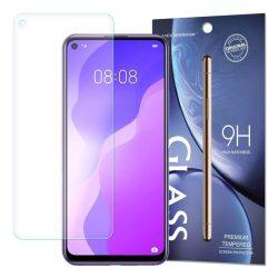 edzett üveg tempered glass 9H Képernyővédő fólia Huawei P40 Lite 5G / Huawei Nova 7 SE (csomagolás - boríték) üvegfólia