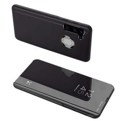 Clear View tok Samsung Galaxy A21S fekete telefontok