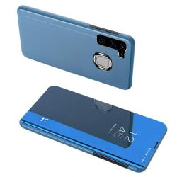 Clear View tok Samsung Galaxy A21S kék telefontok